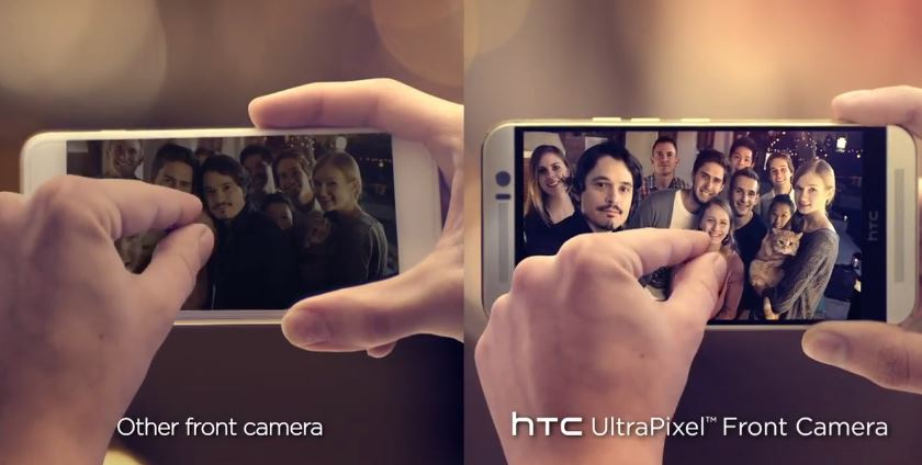 Camera-frontala-htc-one-m9