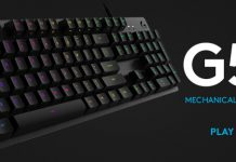 tastatura mecanică de gaming G512