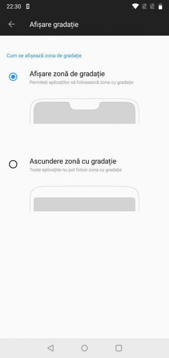 Hide Notch OnePlus 6