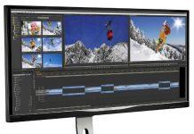 Monitor Philips UltraWide QHD de 34 de inch