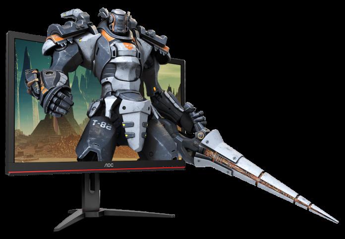 monitor de gaming AOC 4K