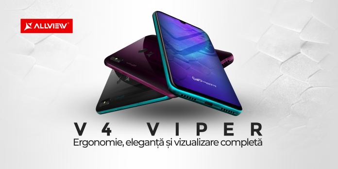 Allview lansează seria V4 Viper