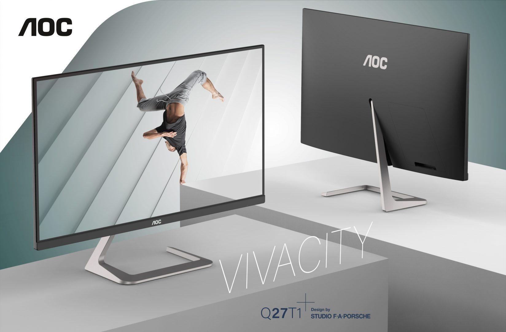 Monitorul AOC, creat împreună cu Studioul F.A. Porsche