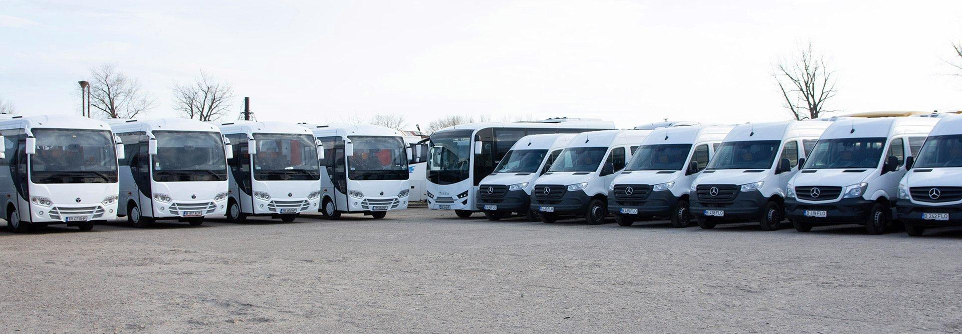 inchirieri microbuze București