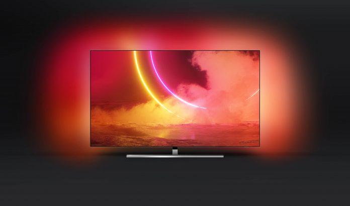 Noile televizoare OLED Philips 805/855