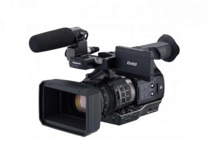 Prima camera video profesionala